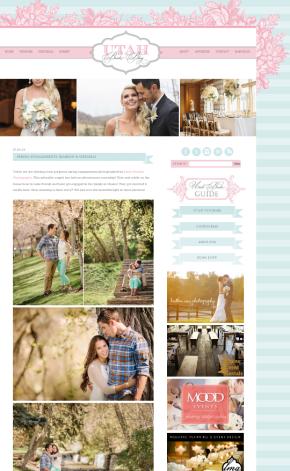 Utah Bride Blog Engagements